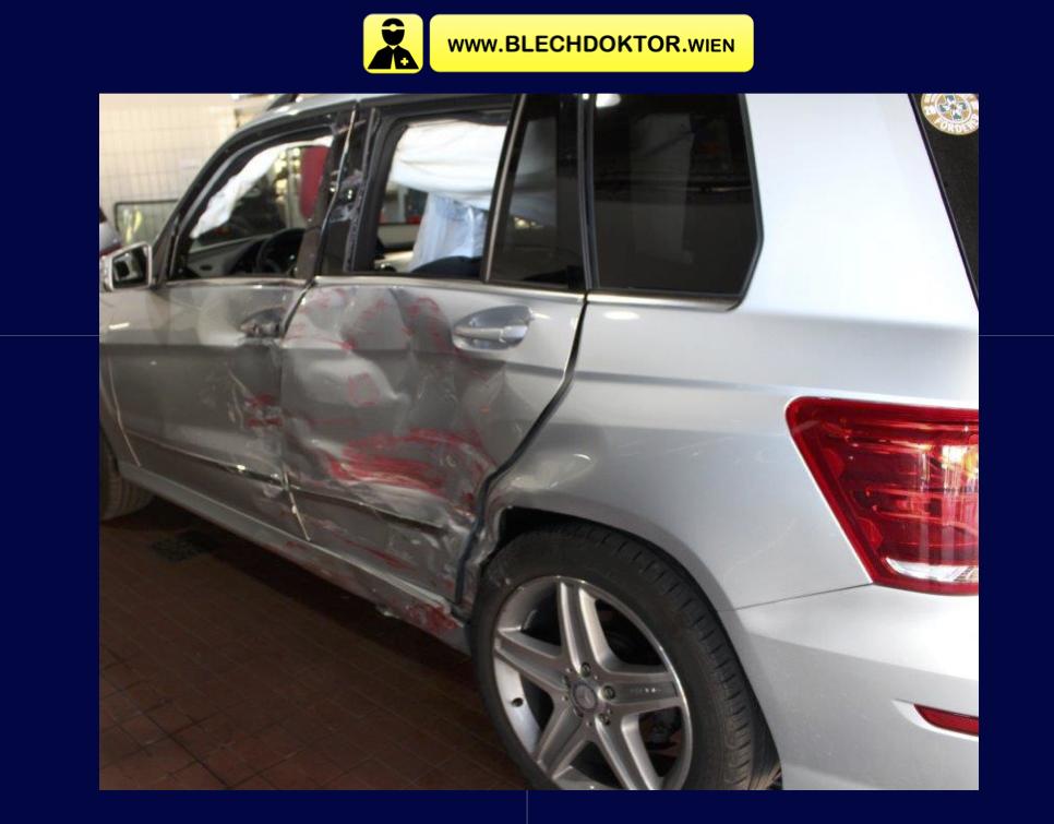 Mercedes Benz GLK silber
